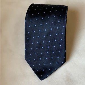 Brooks Brothers silk polka dot tie